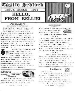 Ausgabe 3 1987 Parody Newsletter, Magazine, USA, 1987