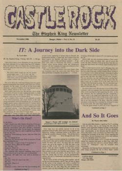 Castle Rock Magazine, Magazine, 1986