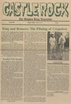 Castle Rock Magazine, Magazine, 1987