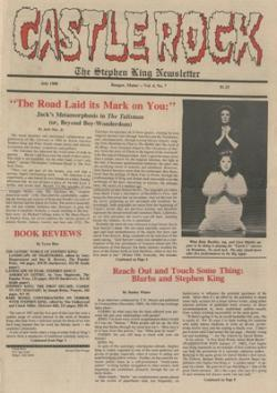 Stephen King Newsletter Volume 4 07/1988, Stephen King, Magazine, USA, 1988
