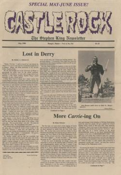 Stephen King Newsletter Volume 4 05/1988-06/1988, Stephen King, Magazine, USA, 1988