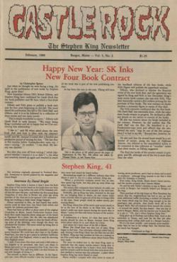 Stephen King Newsletter Volume 5 02/1989, Stephen King, Magazine, USA, 1989
