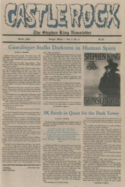 Stephen King Newsletter Volume 5 03/1989, Stephen King, Magazine, USA, 1989