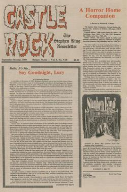 Castle Rock Magazine, 1985