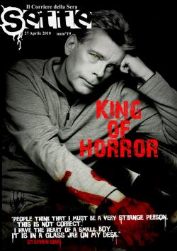 Ausgabe 19, April 2010, King of Horror, RCS Mediagroup S.p.a. , Magazine, Italy, 2010