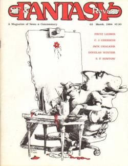 Fantasy Review / Newsletter, Magazine, 1984