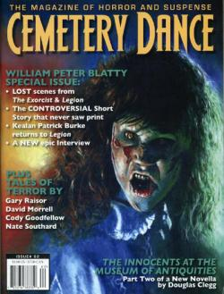 Nr. 62,  From the Dead Zone: Stephen King News, Cemetery Dance, Magazine, USA, 2009