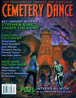 Nr. 63,  Under The Dome Review, Cemetery Dance, Magazine, USA, 2010