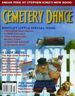 Nr. 64, Ausschnitt aus Blockade Billy, Cemetery Dance, Magazine, USA, 2010