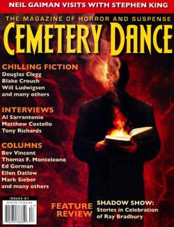 Nr. 67, Neil Gaiman besucht Stephen King, Cemetery Dance, Magazine, USA, 2012