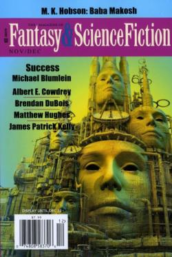 The Magazine of Fantasy and Science Fiction 11 2013, 2013