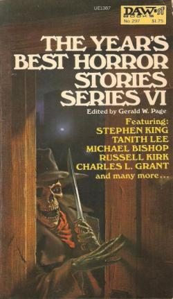 The Year's Best Horror Stories: Series VI, 1978