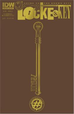 Locke & Key: Guide To The Known Keys, Nov 23, 2011