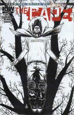 Sketch Cover Variant, 4 von 4, IDW Publishing, Comic, USA, 2012