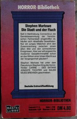 Die Stadt und der Fluch, Paperback, Jul 1980