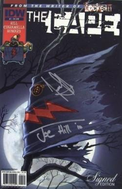 One-Shot, Signed Edition Cover, IDW Publishing, Comic, USA, 2014