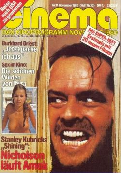 Review 'The Shining', Burda, Magazine, Germany, 1980