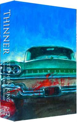 974 copy slipcased edition, Oldsmobile slipcase, PS Publishing, Slipcase, Great Britain, 2014
