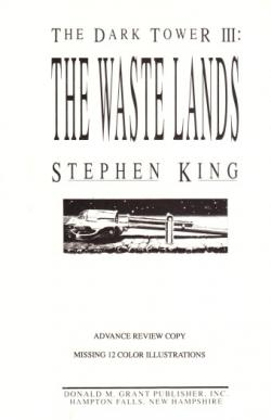 The Dark Tower - The Waste Lands, Paperback, 1991