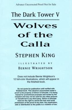 The Dark Tower - Wolves of the Calla, Paperback, 2003