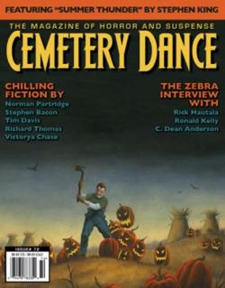 Cemetery Dance #72, Magazine, Jan 2015
