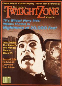 Rod Sterling's The Twilight Zone Magazine, Magazine, May 1984
