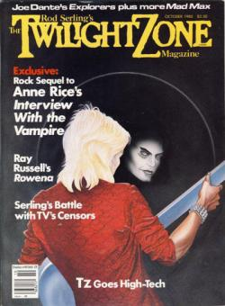 Rod Sterling's The Twilight Zone Magazine, Magazine, Oct 1985