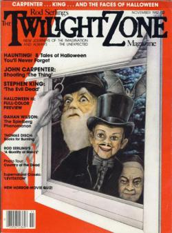 Rod Sterling's The Twilight Zone Magazine, Magazine, Nov 1982