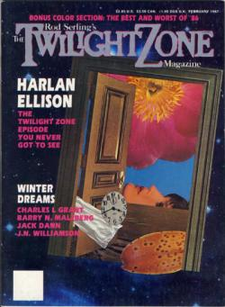 Rod Sterling's The Twilight Zone Magazine, Magazine, Feb 1987