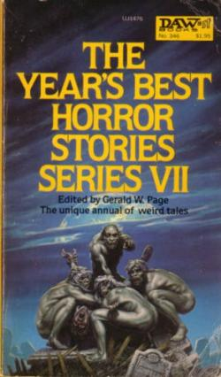 The Year's Best Horror Stories: Series VII, Paperback, Jul 1979
