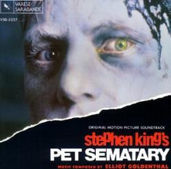Pet Sematary Original Motion Picture Soundtrack, CD, 1993