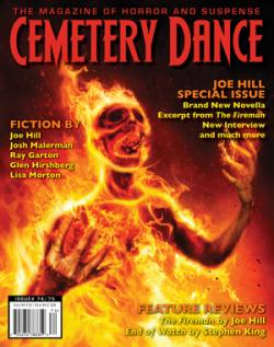 Joe Hill Double Issue, Cemetery Dance, Paperback, USA, 2016
