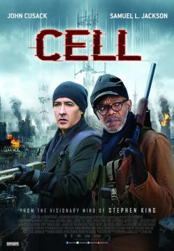 Cell, Movie Poster, 2016