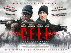 Cell, Movie Poster, Aug 26, 2016