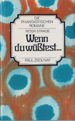 Paul Zsolnay Verlag, Hardcover, Germany, 1979