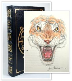 Leather Bound Edition (w/Slipcase) Signed & Remarqued by Jill Bauman, Easton Press, Hardcover, USA, 2004