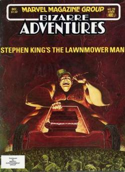The Lawnmower Man, Comic, 1981