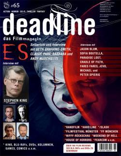 Ausgabe 65, deadline Magazin, Magazine, Germany, 2017