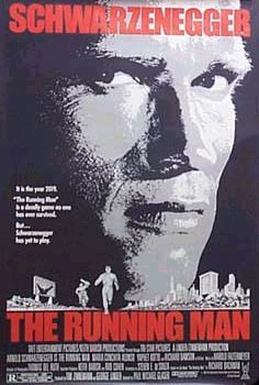 The Running Man, Movie Poster, 1987