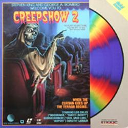 Creepshow 2, Laser Disc, 1987