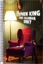Stephen King Desk Calendar, Calendar, 2007