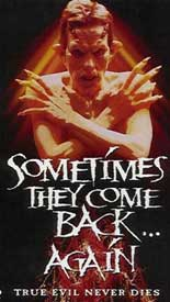 Sometimes they come back ... again, Movie Poster, 1996