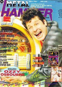 Metal Hammer, Magazine, Mar 1987